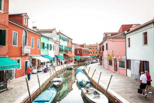 Burano, Venedig, lagune