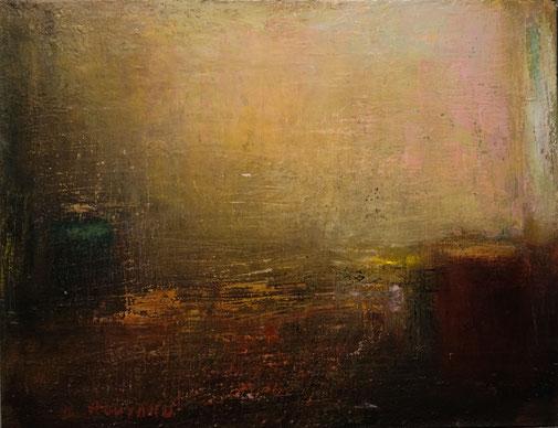 B. Rouyard, Atelier, huile sur toile, 50x65.