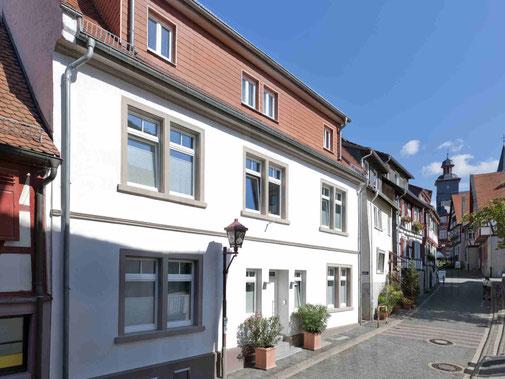 """Ferienwohnungen und Appartements """"Alte Bäckerei"""" Heppenheim Kreis Bergstraße."""