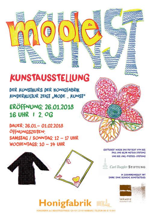 "KinderKultur Kunstausstellung: ""Mode...Kunst"""