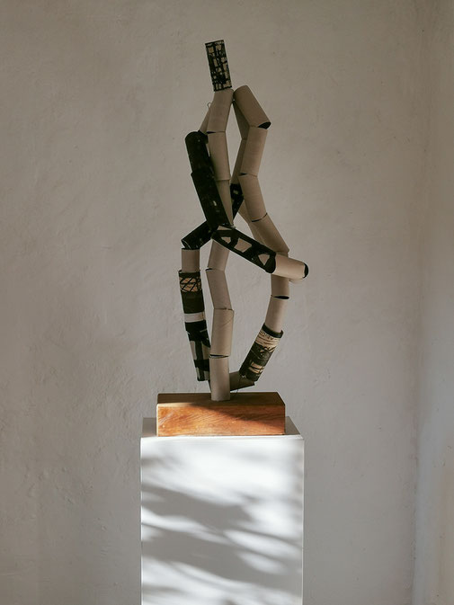 "Ausstellung, Adi Meier-Grolman,  ""-MU-"", Kunstraum K634, Kurator Andreas Keil, Köln, 2020"
