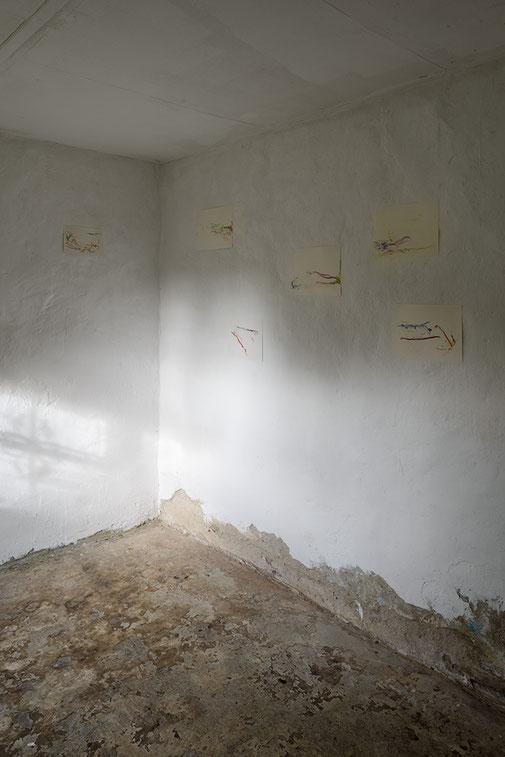 "Ausstellung, Pascal Pesez, ""Après tout, au fond du jardin"", Kunstraum K634, Kurator Andreas Keil, Köln, 2020"