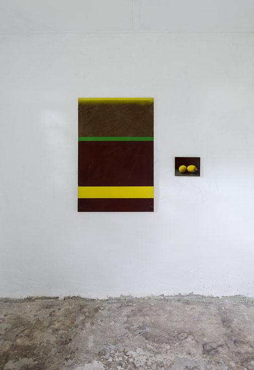 Friedhelm Falke, Ausstellung, Malerei, Kunstraum K634, Köln, 2019
