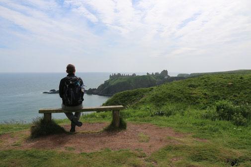 Der erste Blick auf das Dunnoter Castle: Wow!