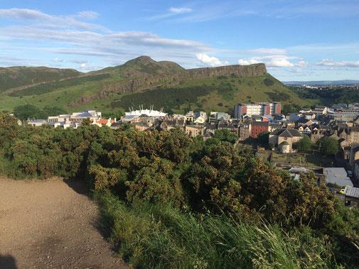 Arthurs Seat - Der Hausberg Edinburghs