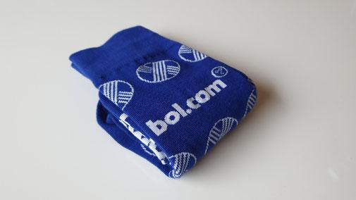 Bol.com sokken met logo's