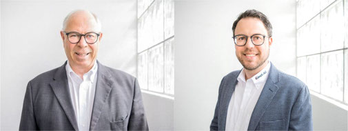 Markus Buff (links) und sein Sohn Fabian Buff leiten das Unternehmen weiterhin.