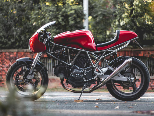 Ducati 750ss SuperSport Modern Cafe Racer
