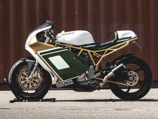 Ducati Supersport 1000 SS Cafe Endurance Racer