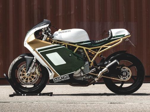 Ducati Supersport 1000 SS Cafe Endurance Racer