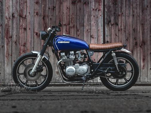 Kawasaki Z 650 Brat Style Cafe Racer