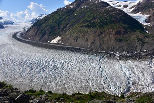 Auch dieser Gletscher wird in absehbarer Zeit verschwunden sein.