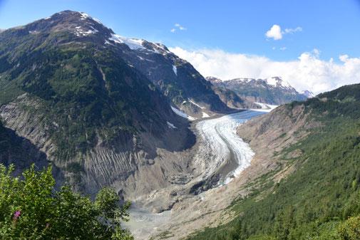 Gletscher Zunge