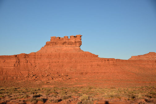 Sonnenaufgang im Valley of the Gods