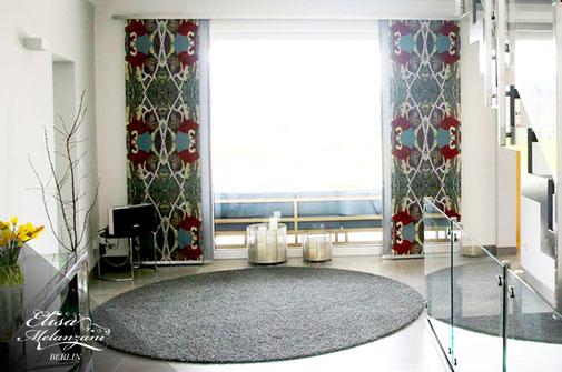 panel curtain - made to measure © ELISA MELANZANI BERLIN