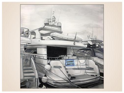 auftragsmalerei-inna-bredereck-kunstwerk-gegenstaende-kai-sportboote-motorboot