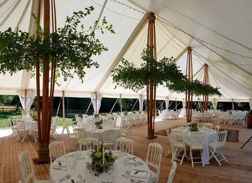 MARIAGE champêtre au château CHAPITEAU BAMBOU CHIC près de paris se marier dans un château près de paris île de france sein et marne 77