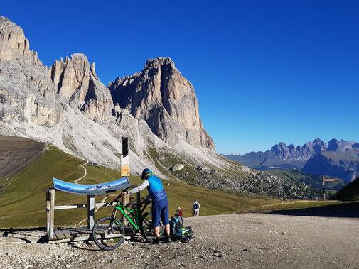 Besucherlenkung und Mountainbiking