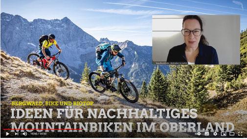 Nachhaltiges Mountainbiken im Oberland. © destination to market
