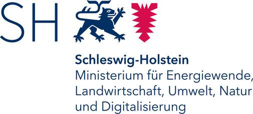 Logo des Ministerium für Energiewende, Landwirtschaft, Umwelt, Natur und Digitalisierung des Landes Schleswig-Holstein