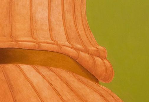 Pia Krajewski, detail oT (Socke) 2019, oil on canvas, 180x150cm