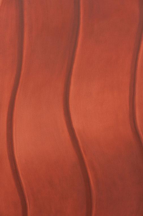 Pia Krajewski, Detail of oT (Nut) 2021, oil on canvas, 200x180cm
