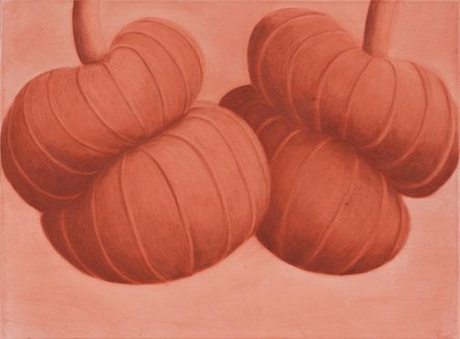 Pia Krajewski, oT (Twins) 2021, oil on canvas, 60x80cm