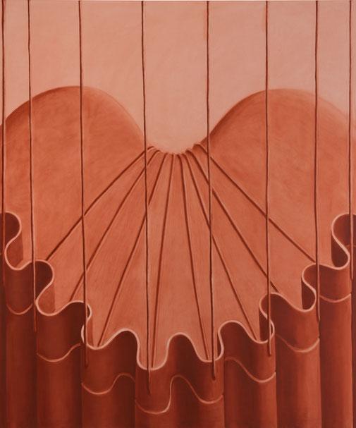 Pia Krajewski, oT (Apparat Back) 2021, oil on canvas, 180x150cm
