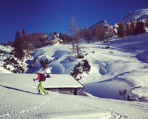 Skitour auf's Stahlhaus