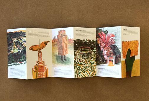 """livro infantil """"São Paulo"""" de Andrés Sandoval"""