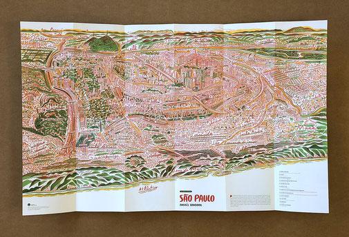 mapa do Kinderbuch von Andrés Sandoval
