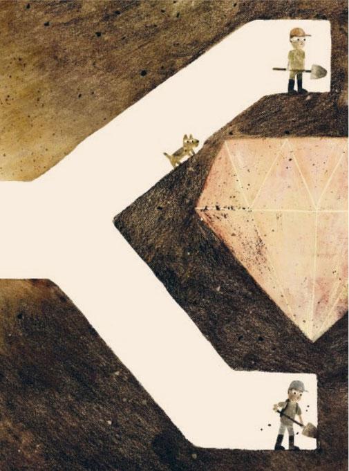 Kinderbuch von Mac Barnett – Uma Aventura Debaixo da Terra