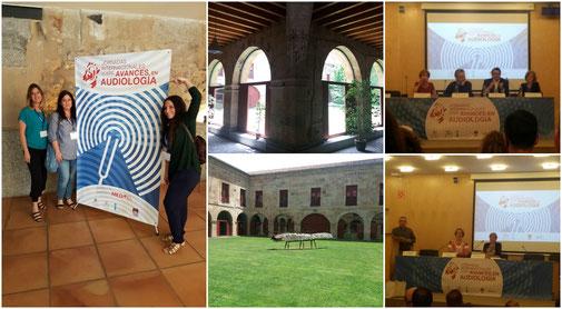 El equipo del Centro Auditivo Cuenca asistimos a las XI Jornadas Internacinales sobre Avances en Audiología, Universidad de Salamanca.