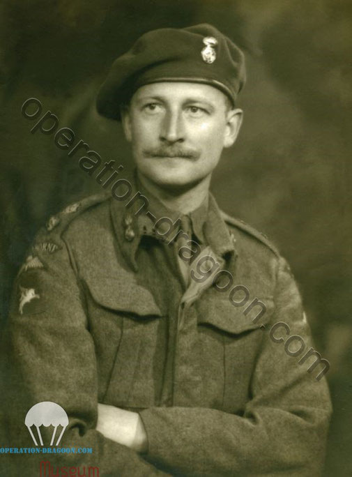 Lt Col Pritchard, 6th Royal Welsh Para Battalion Commanding Officer. Source : A Rich Tapestry of Welsh History by Philip Nanney Williams