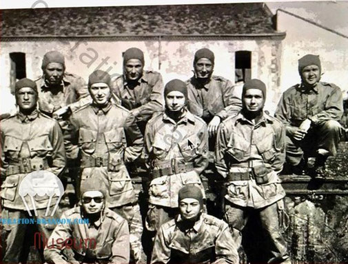 509th paratroopers North Africa. after Operation Torch.