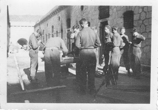 1st Battalion inside the fort Barbonnet overlooking Sospel