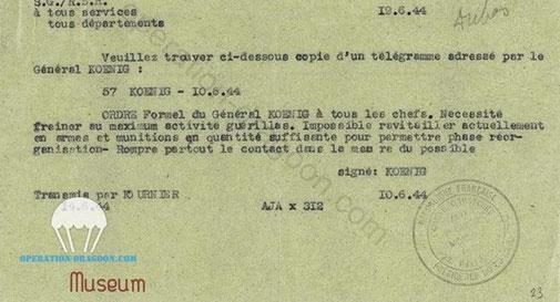 """Documents retrouvés par la Gestapo au Domicile de """"Dubos"""" G. Cisson ."""