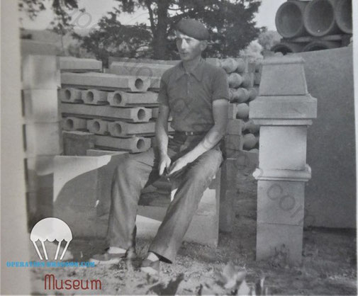 André SERRE a sa cimenterie des Arcs dans les année avant guerre.