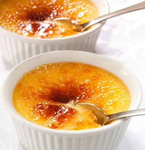 recette crème brulée aux truffes