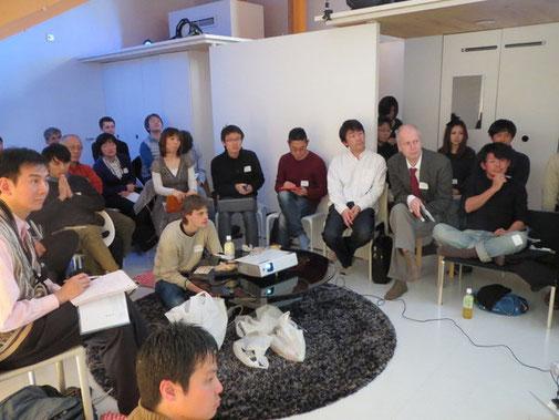 御茶ノ水大学、お茶ハウスで行われたQSです。