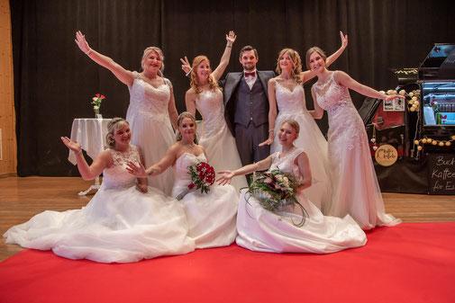 Lisas Hochzeitsladen aus Inning, Modenschau auf der Hochzeitsmesse Landsberg
