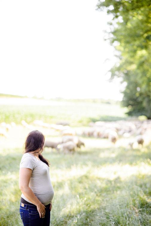 Outdoor Schwangerschaftsshooting