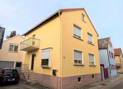 Brenner Immmobilien verkauft ein Einfamilienhaus in Schwegenheim