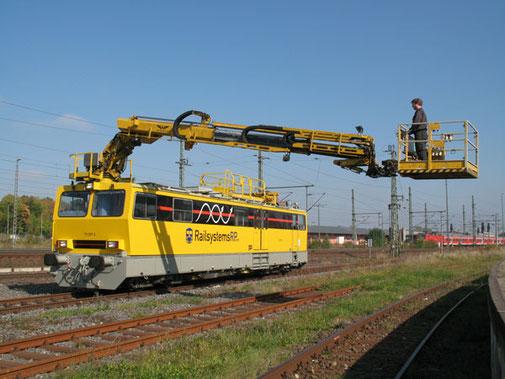 Hubarbeitsbühneninstandhaltungsfahrzeug Railsystems RP GmbH