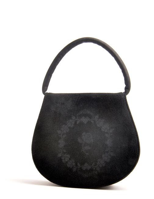 Edle Dirndltasche Leder schwarz OSTWALD Traditional Craft