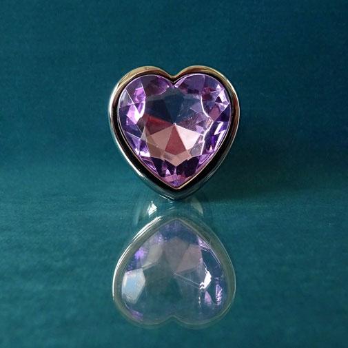 heart butt plug diamond plug purple heart plug purple anal plug buttplug heart purple paarse buttplug paarse anaal plug buttplug met hart buttplug met hartje paars