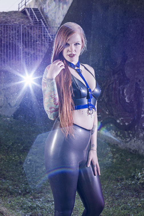 Nathalie van Barneveld by Guldor Photography - Latex by Dazzled Designs