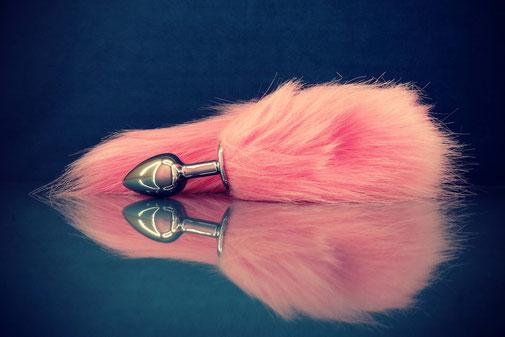 roze staart buttplug kittenplan buttplug petplay plug staartplug roze staartplug buttplug met staart buttplug met roze staart cosplay buttplug buttplug vossenstaart