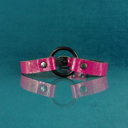 glitter choker leather choker pink leather choker pink choker pink leather collar glitter collar glitter halsband roze glitter choker roze leren choker