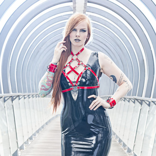 Nathalie van Barneveld by Guldor Photography - Dress by Dazzled Designs Latex